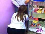 สาวร้านกิฟท์ ชอบโม้กให้ผัวในร้าน