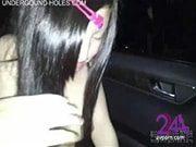 คลิปเด็ด สาวหมวย ขนเพิ่งขึ้น โดนแฟนเย็ดบนรถ