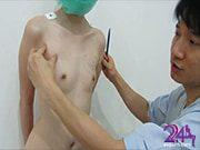 นมน้อย อยากอัพไซส์เลยสมัครเป็นแบบเรียน เพื่อศัลยกรรมฟรี