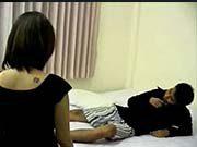 2สาว จอมหื่น รุมขึ้นขย่มผู้ชาย เตียงแทบหัก เสียงไทย